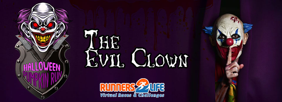 Halloween Pumpkin Run: The evil clown